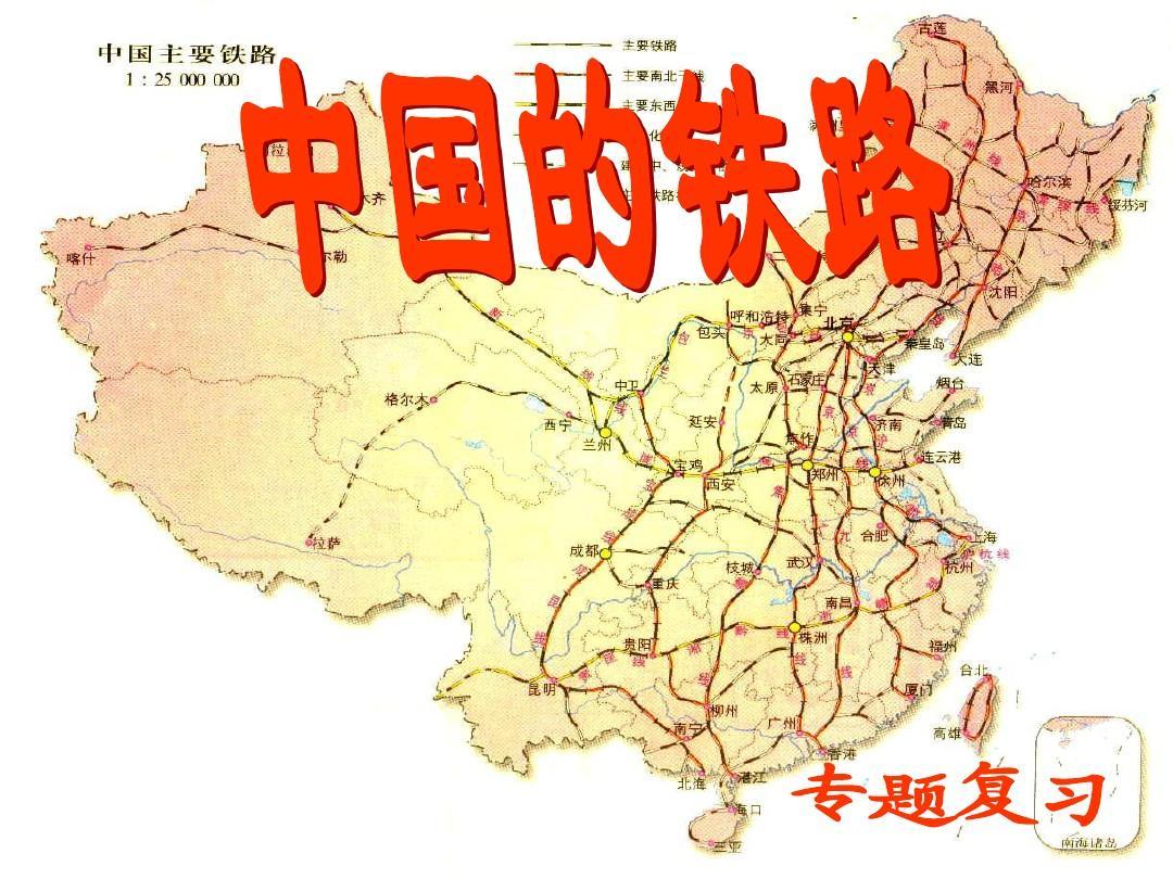 中国铁路ppt