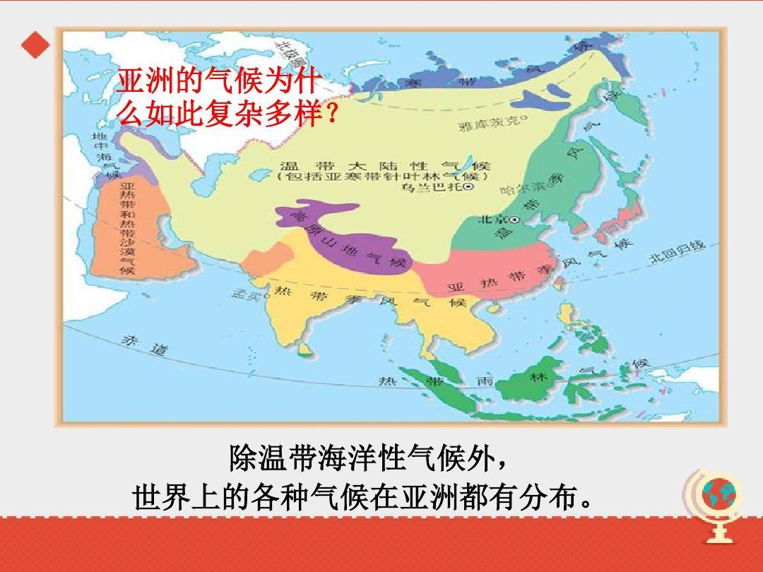 亚洲候类型分布�_样 除带温海性洋候外气 ,界上的各世气候种亚洲在都有分布 .