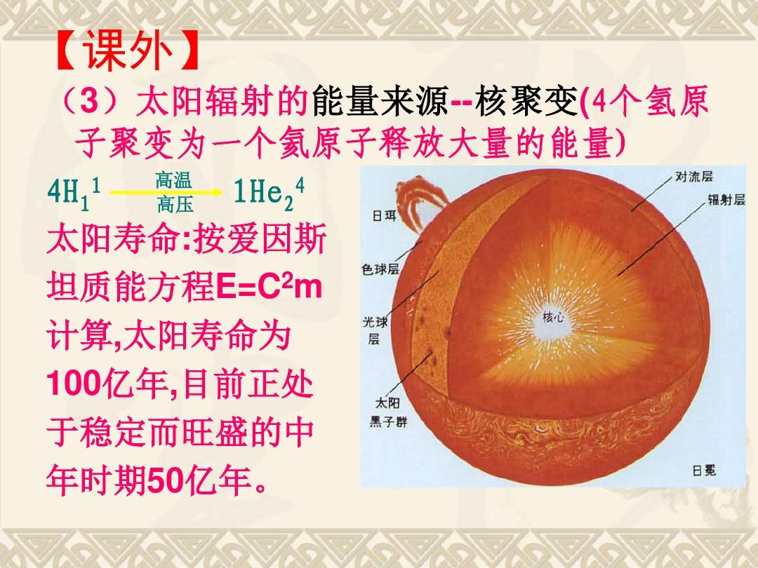 2太阳对地球的影响 课件(共33张ppt)