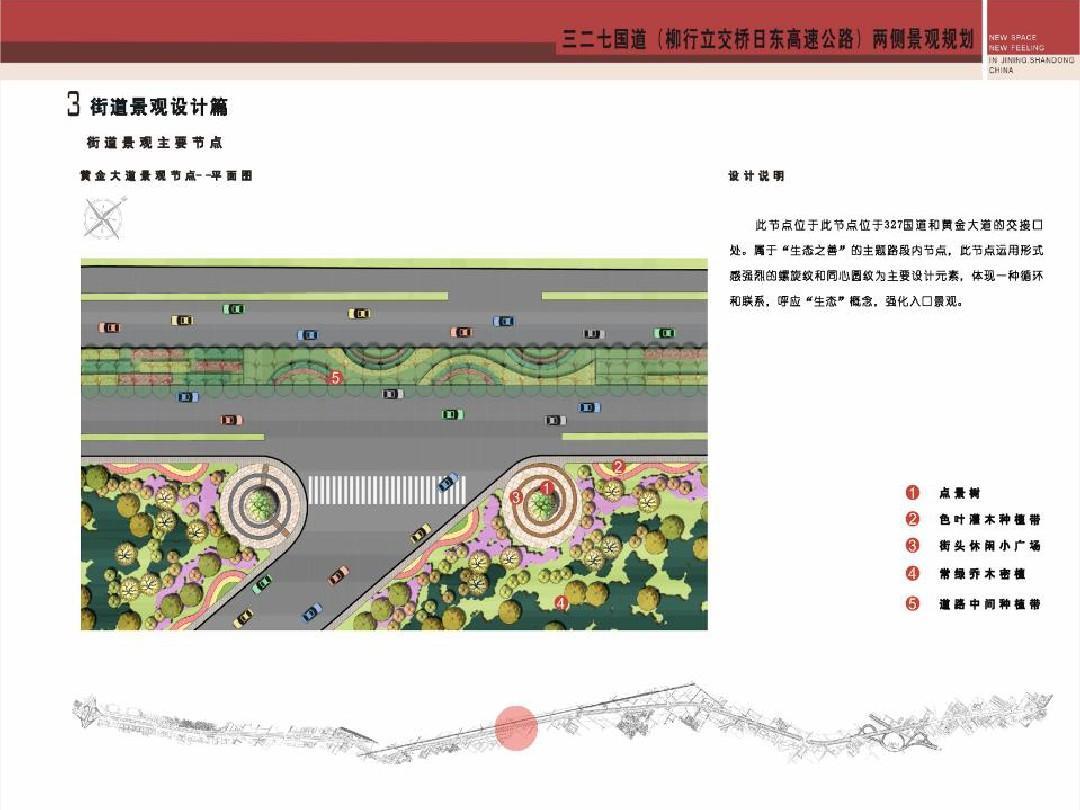 道路节点景观设计1ppt图片