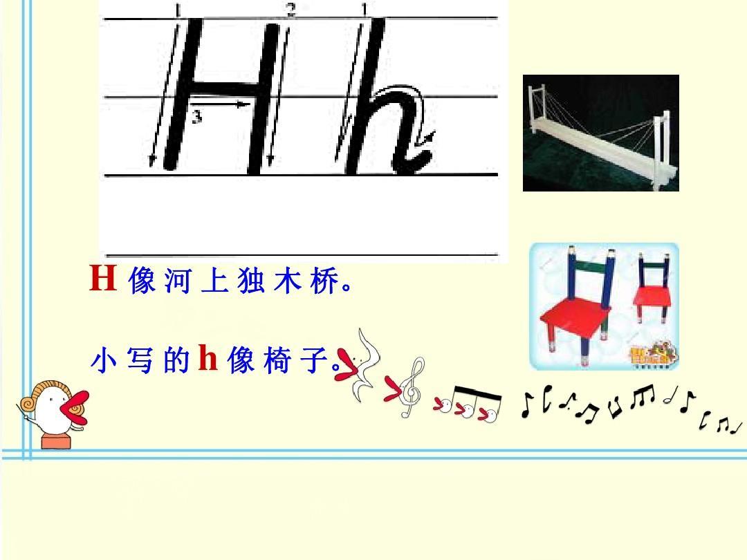 文檔網 所有分類 小學教育 英語 26個字母的順口溜教學及書寫ppt  第9圖片