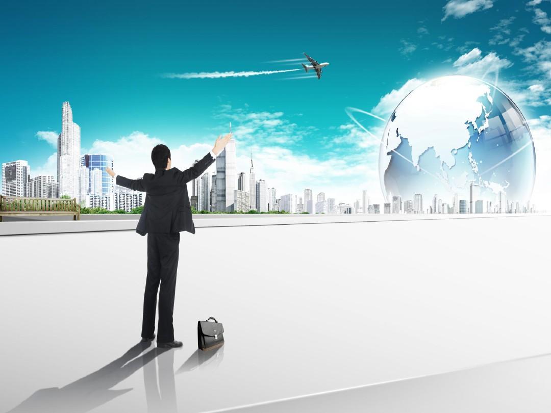 迈向成功商务PPT模板