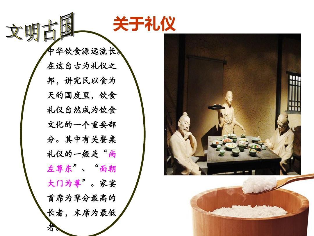 中学生用餐礼仪ppt图片