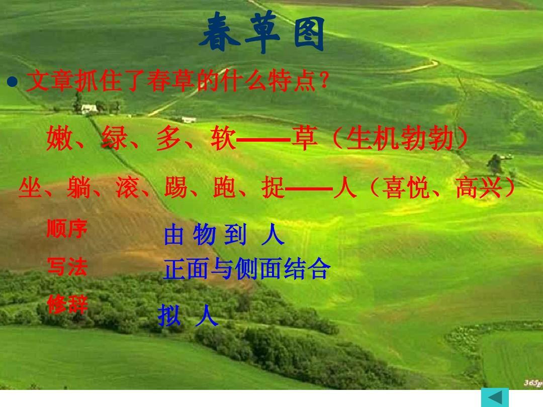 人教版七年级上册朱自清《春》ppt课件图片