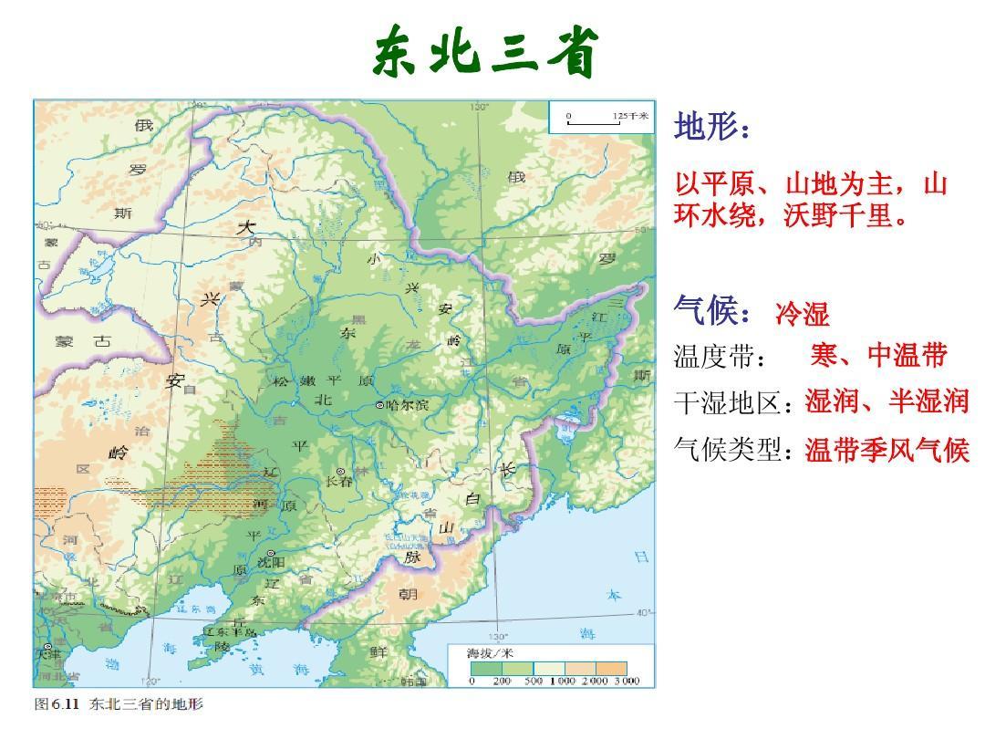 东北三省ppt图片