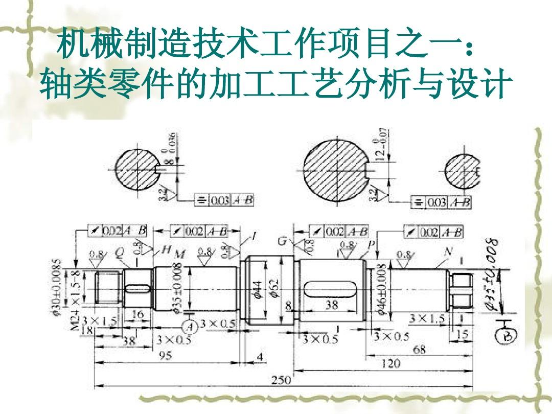 (共433页,当前第1页) 你可能喜欢 典型零件机械加工工艺 套类零件