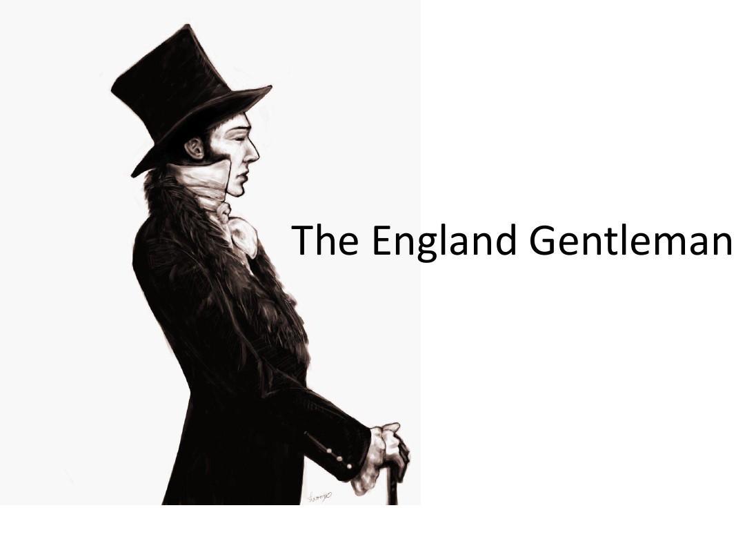 英国绅士文化ppt