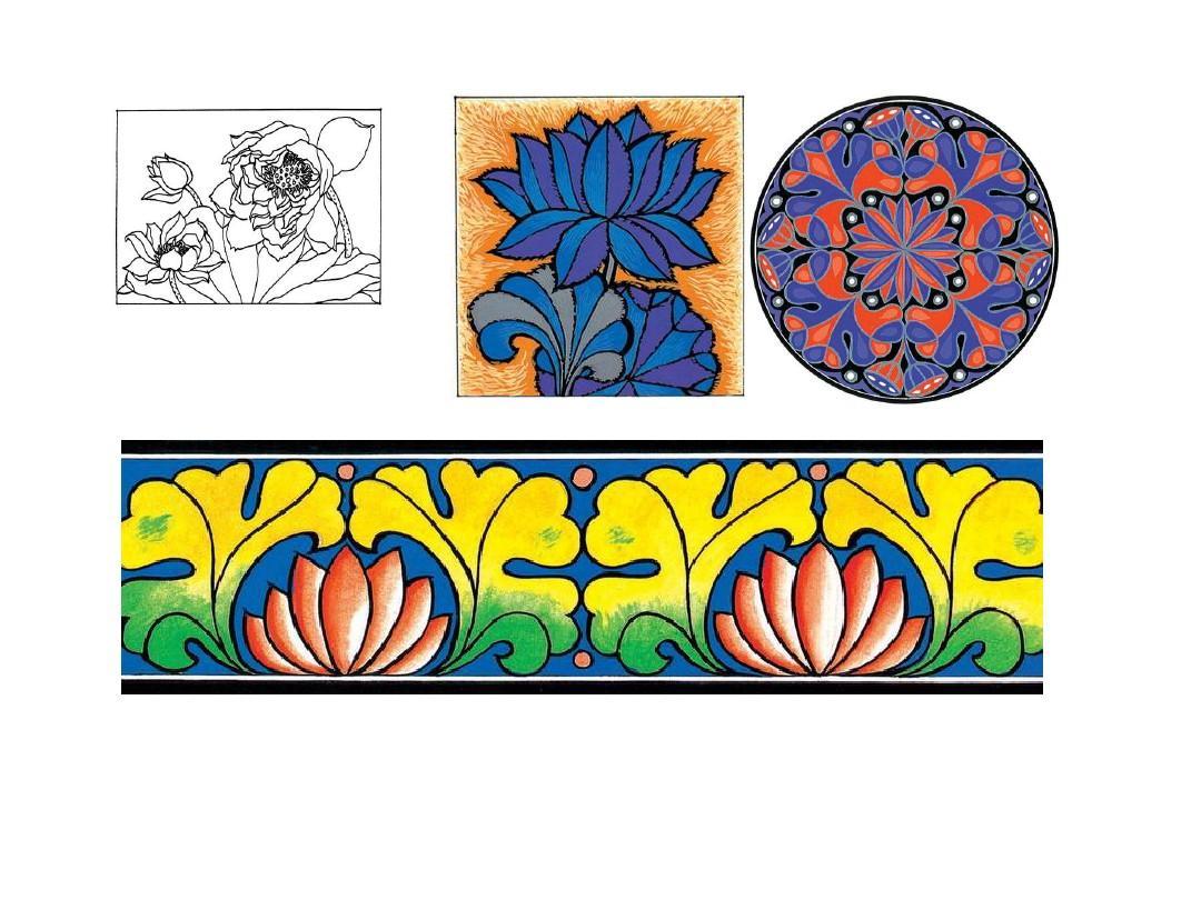 设计 图案的组织形式 图形创意想象图片