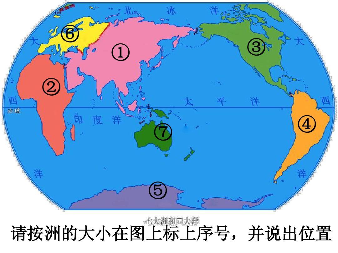 世界七大洲的气候分布图_四大洋/五大洲- 问