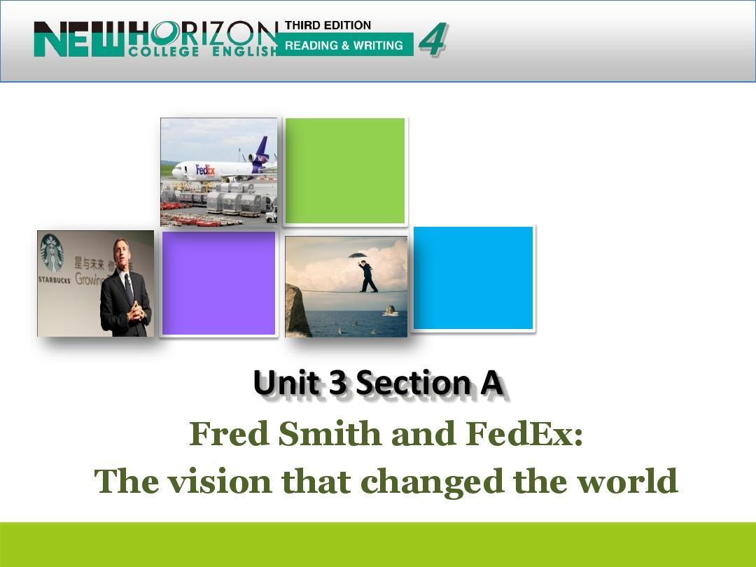 新视野大学英语第三版第四册第三单元sectionA课件ppt