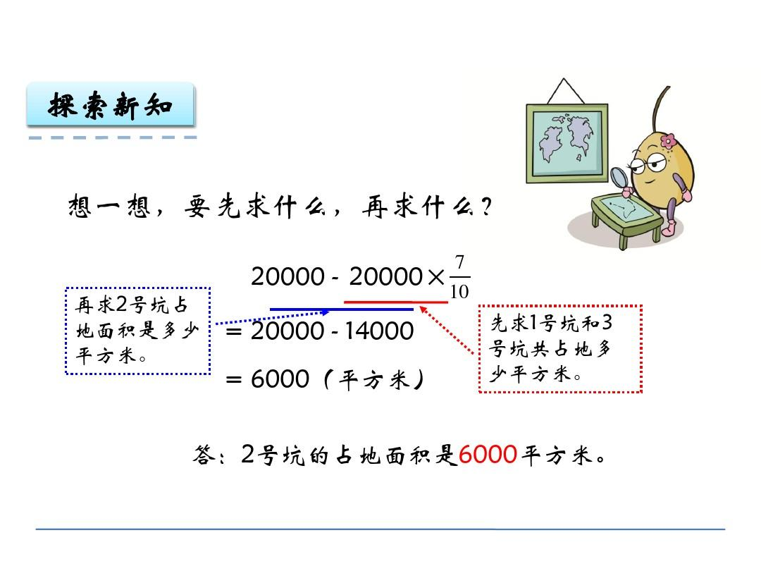 2稍复杂的分数教学课件问题ppt伊呦嘞啦乘法反思图片