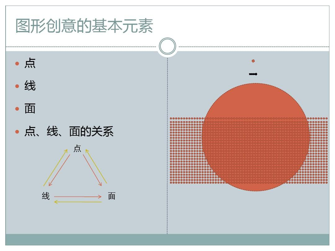 图形创意2 基本形态要素-点线面ppt图片