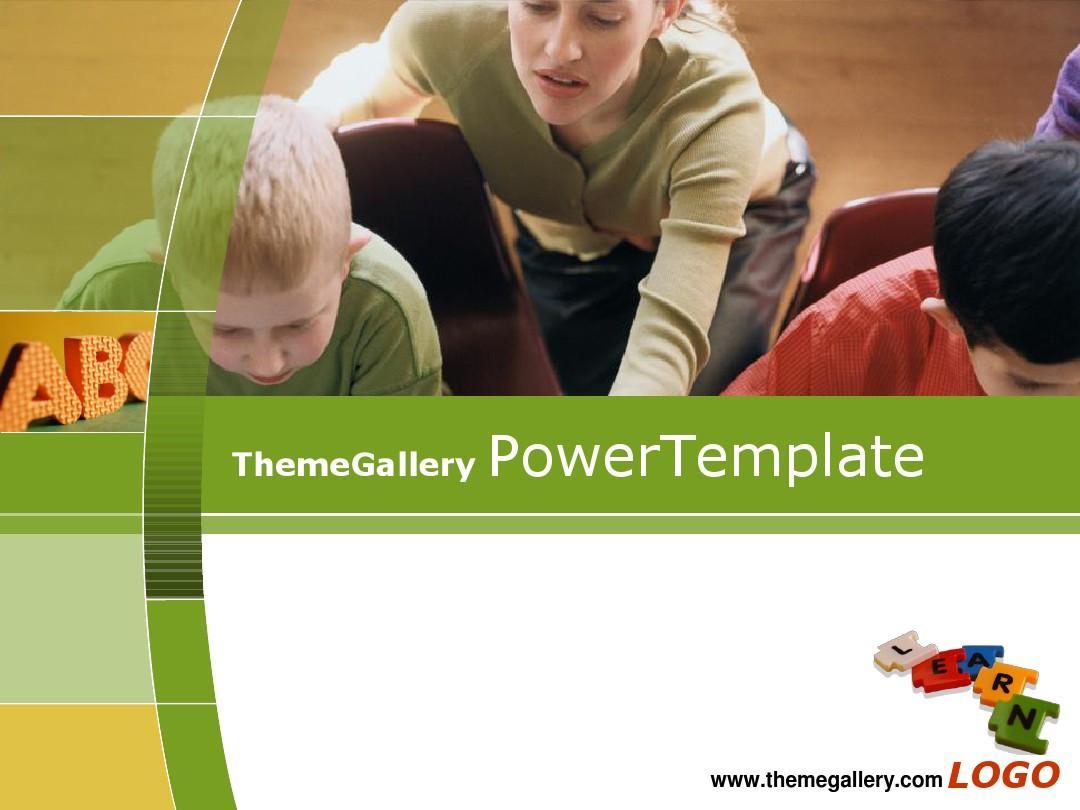 经典PPT模板一:ThemeGallery_PowerTemplate