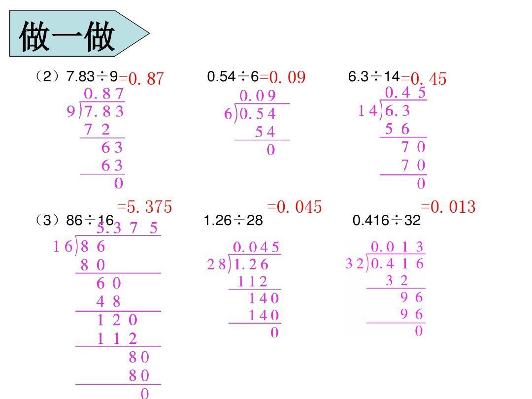 第2小数除法是整数的课时舞蹈(2)ppt擒拿除数教学图片