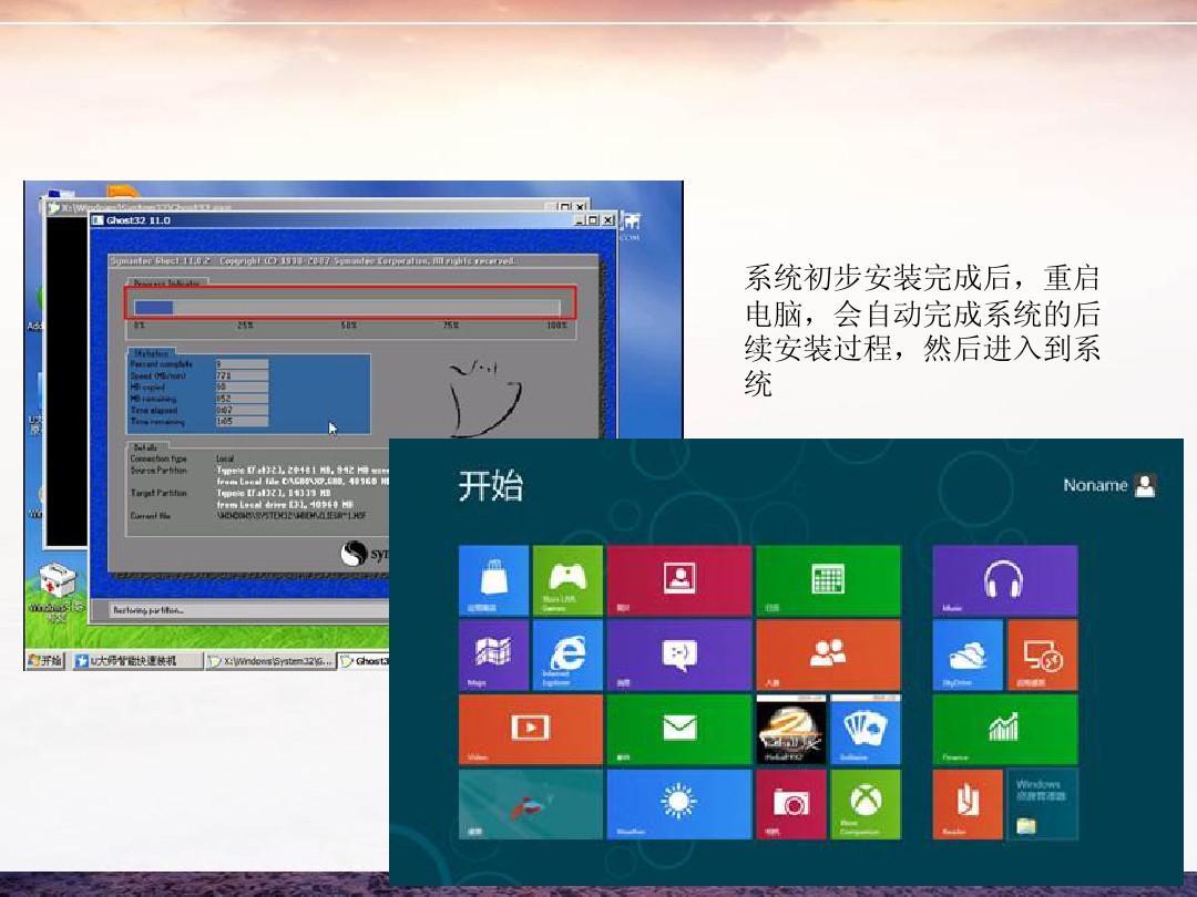 怎么安装win8系统u大师启动盘系统安装教程ppt