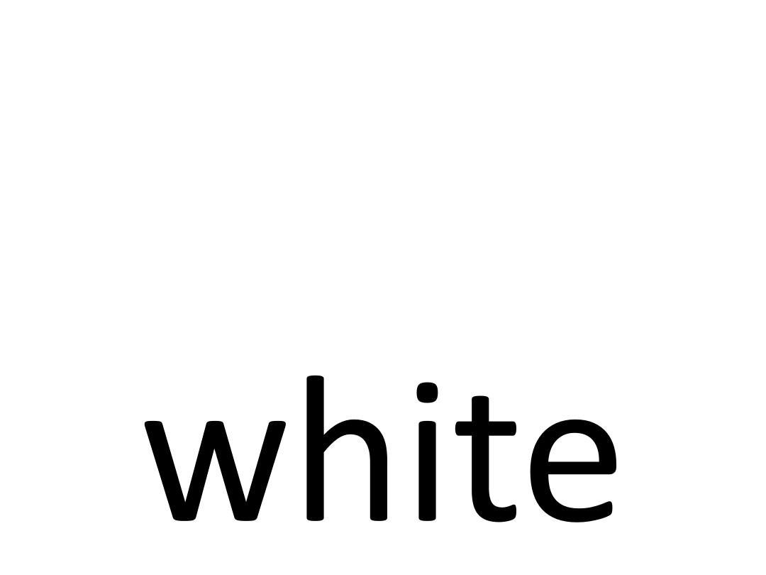 人教版小学一年级颜色英语单词闪卡ppt图片