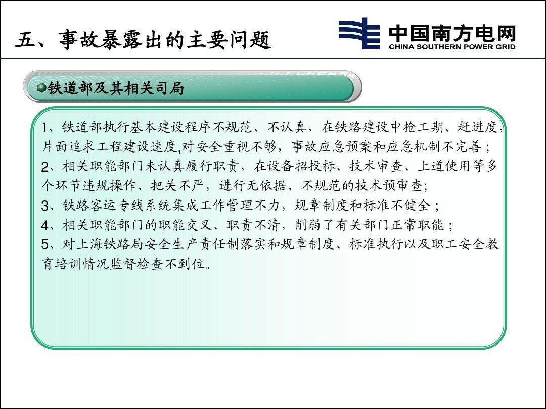 动车事故调查报告_23动车事故调查报告介绍ppt