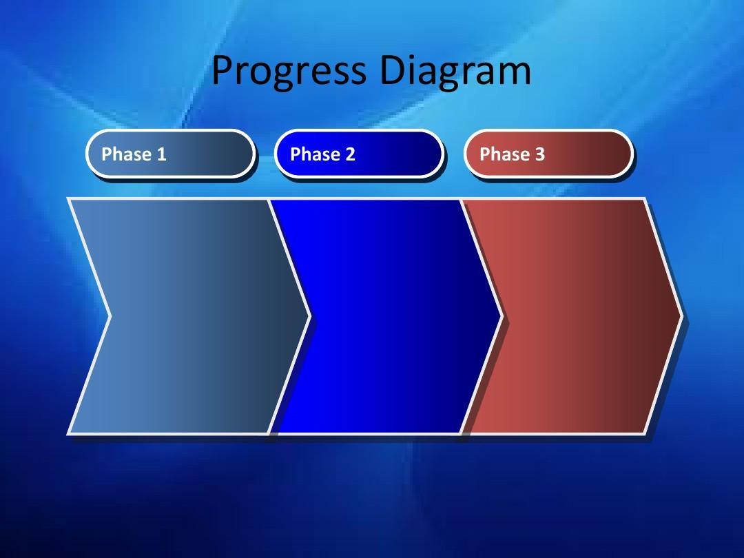 ppt经典模板——深邃蓝色高端大气商务或其他用途ppt模板图片