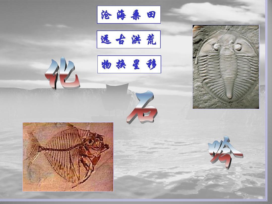 5.21 化石吟 课件(新-人教版七年级上)(1)