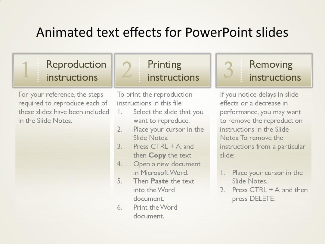 【国外最新模板】严重推荐 PPT动态文字 动态结构 动态流程  animated picture动态模板及动画效果