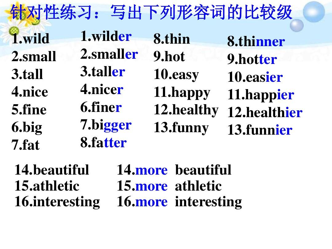 6Imy5ryr5aSn5YWo_八年级英语上册 unit 6 i\'m more outgoing than my sisiter单元复习