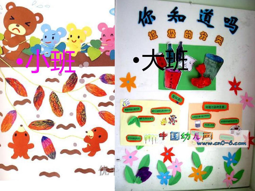 幼儿园区域活动环境创设课件ppt模板图片