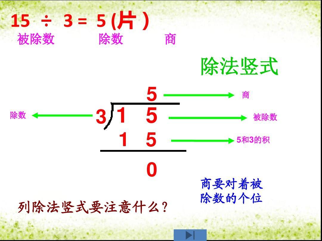 课时教版二课件年级数学三除法下册课件备课数的语文第二年级数学单元上册编下册部有余三年版新人单元第二图片