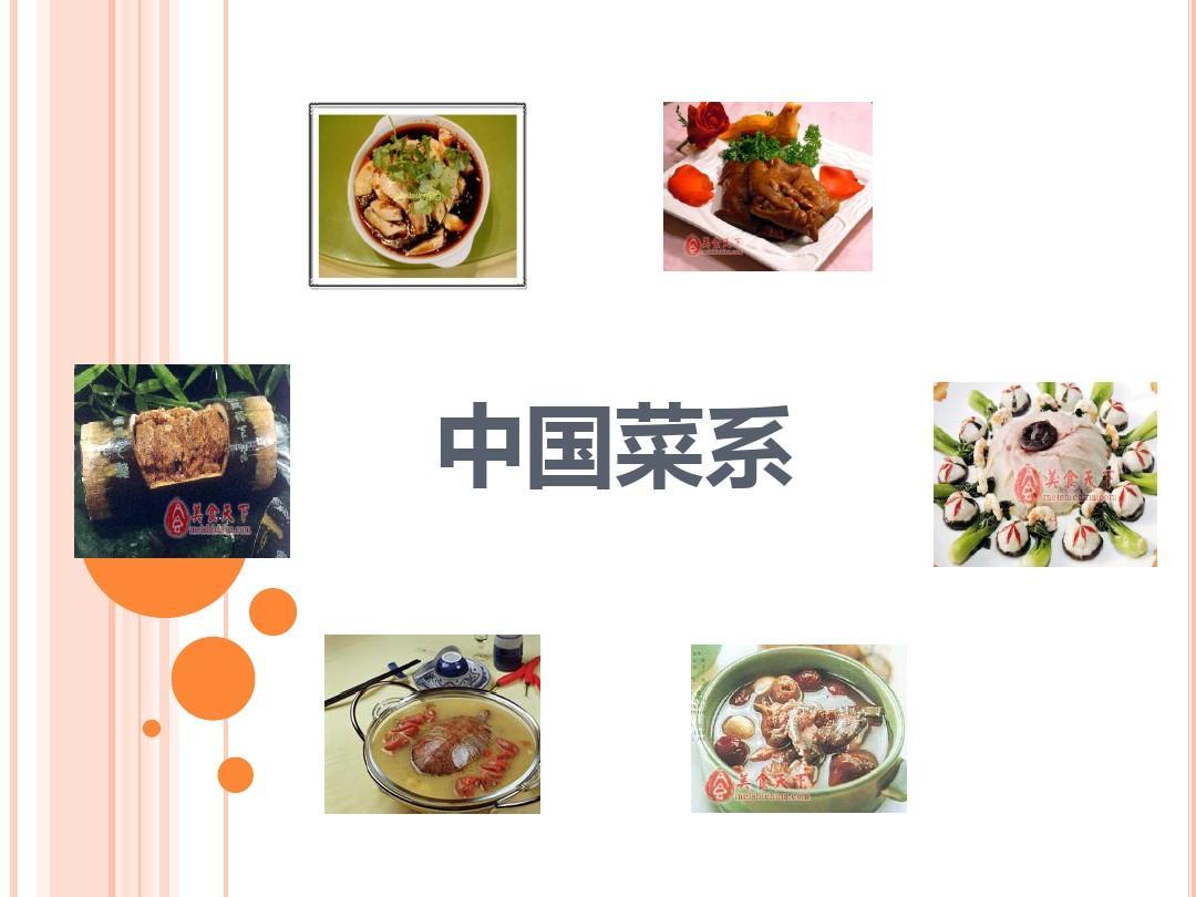 中国八大菜系ppt