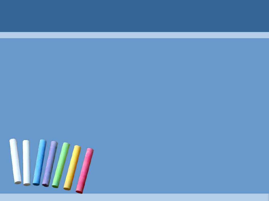 黑板粉笔蓝色背景教育ppt模板图片