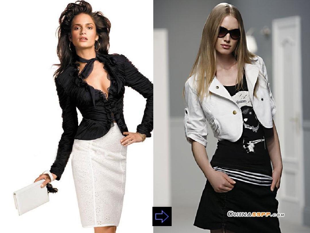服装设计形式美法则ppt图片