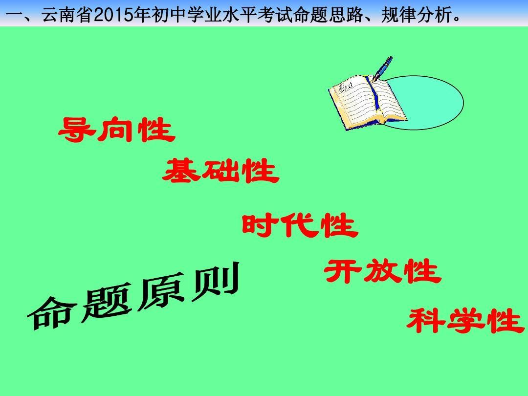 2015年云南省初中學業水平考試v初中化學課件3(127張摘抄寫景初中500美文字圖片