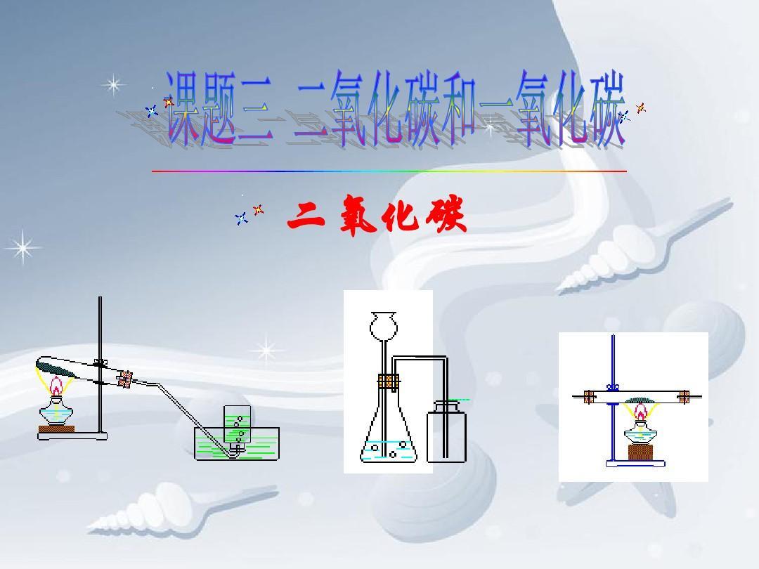 化学版九初中人教上册6.3《二氧化碳和一氧化碳》年级ppt吗召保定课件有特长生图片
