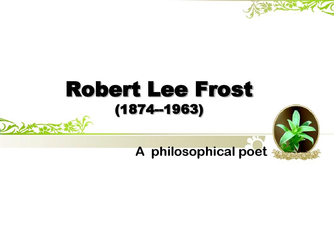 """robert frosts neither out far nor A critical revisiting of robert frost's """"neither out far nor in deep'' educational need assessment of the staffs in the area of education at the university of tarbyat modarres."""