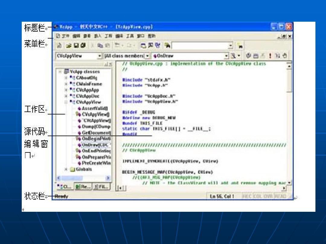 c++mfc实践报告_visual c   mfc编程ppt