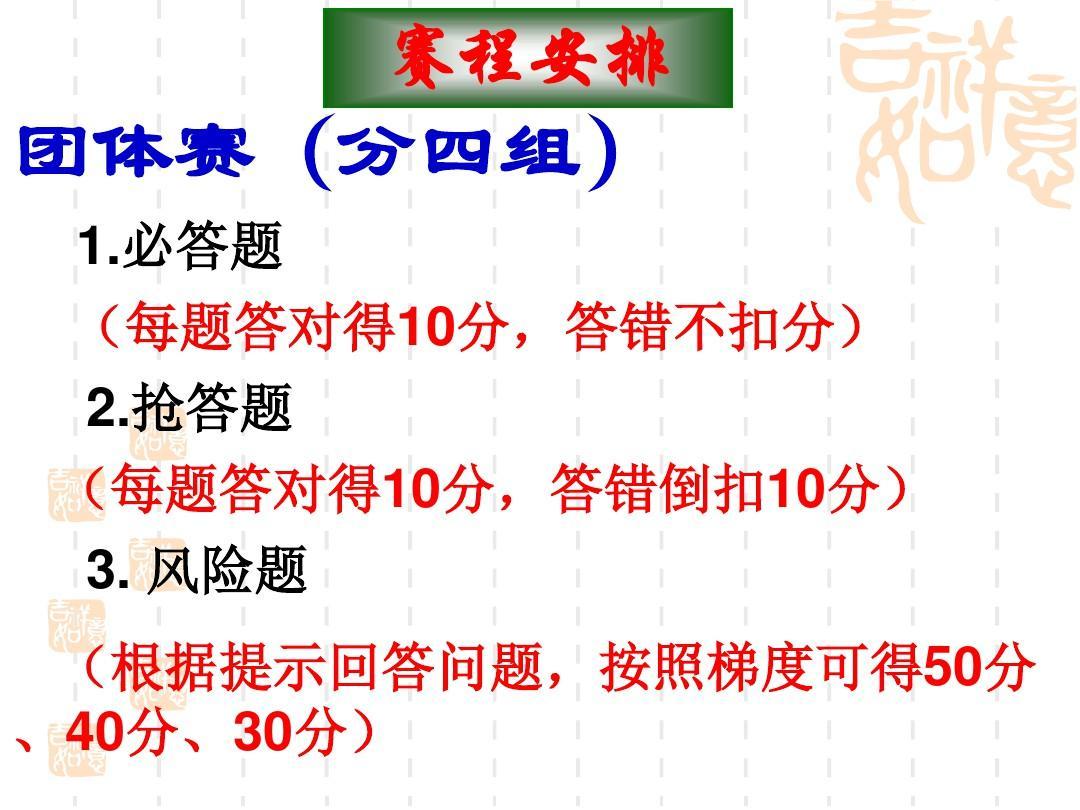 高中语文知识竞赛共54页文档