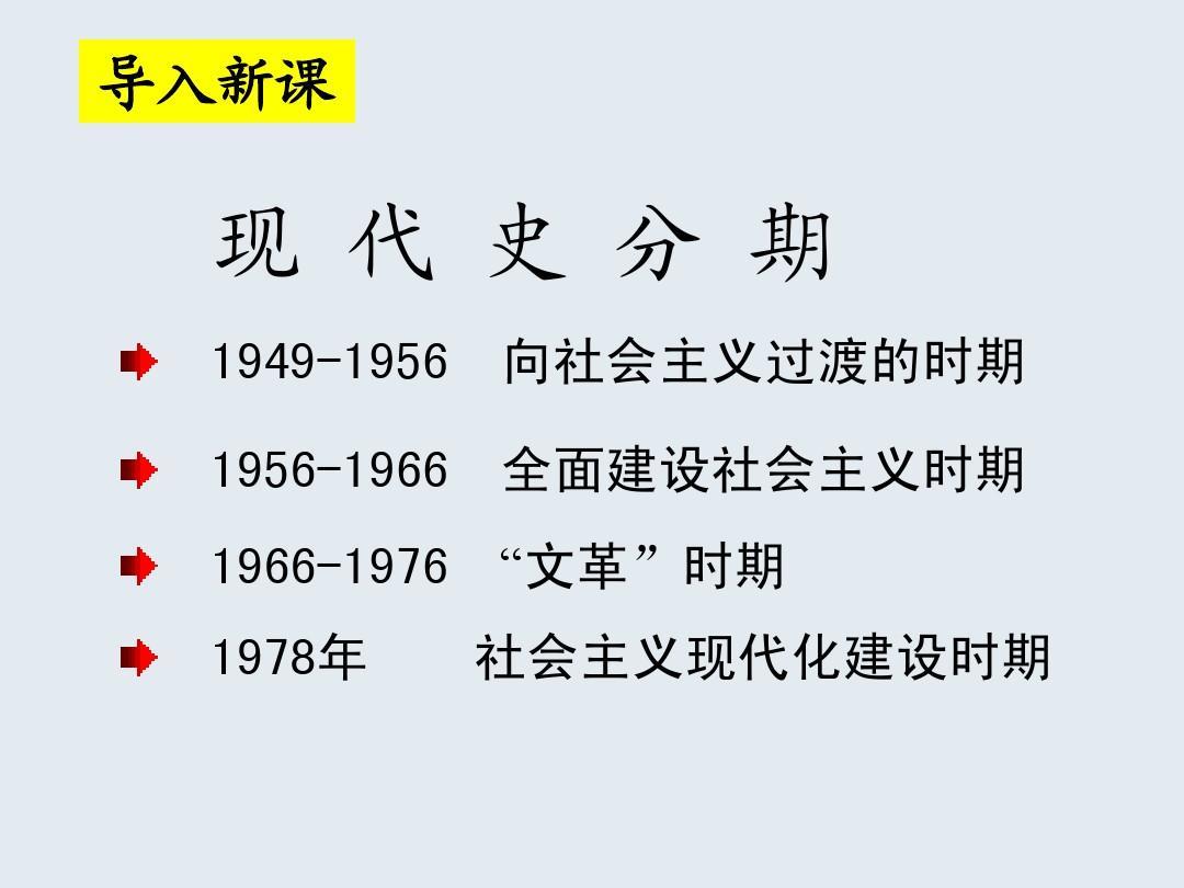 15伟大的历史转折