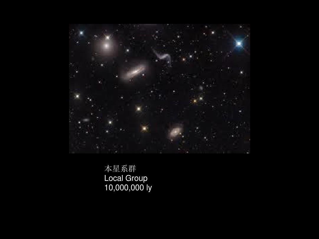 本星系群localgroup10,000,000ly化学反思后的上课图片