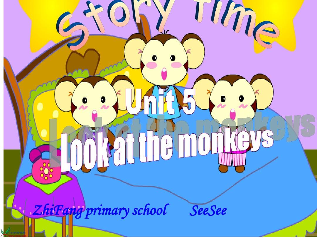 Unit5 Look at the monkeys!A Let's learn课件
