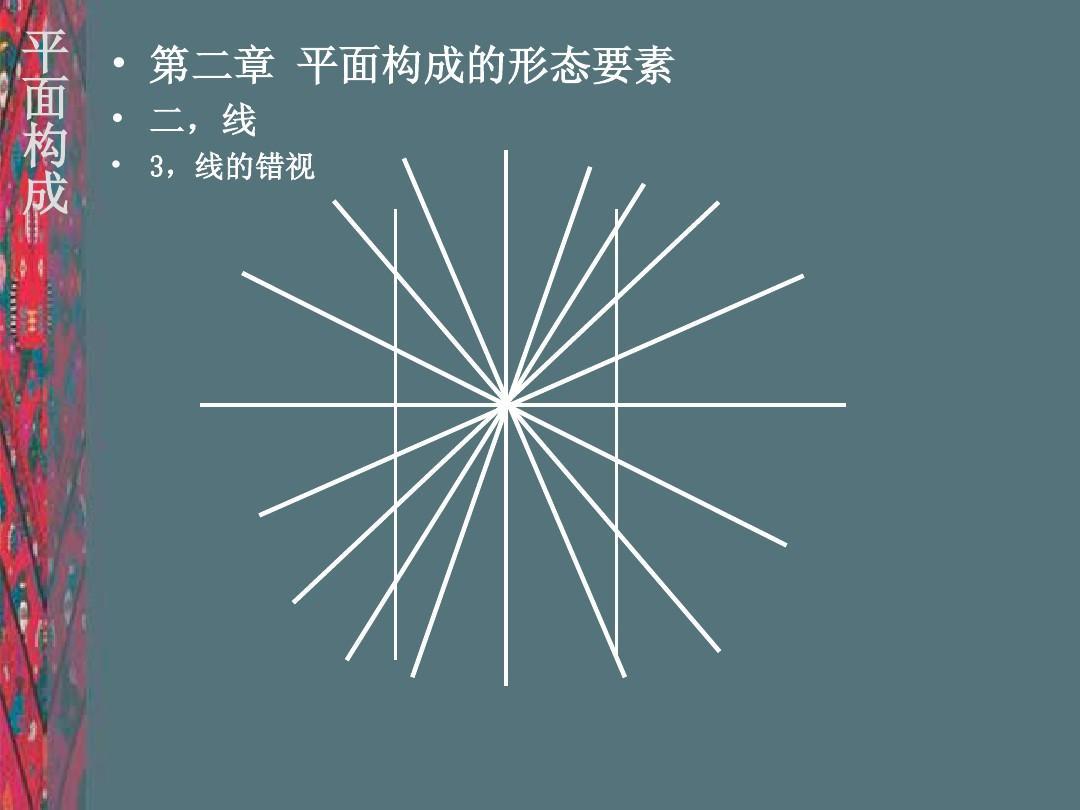 无忧文档 所有分类 高等教育 艺术 平面构成1-概述点线面.图片