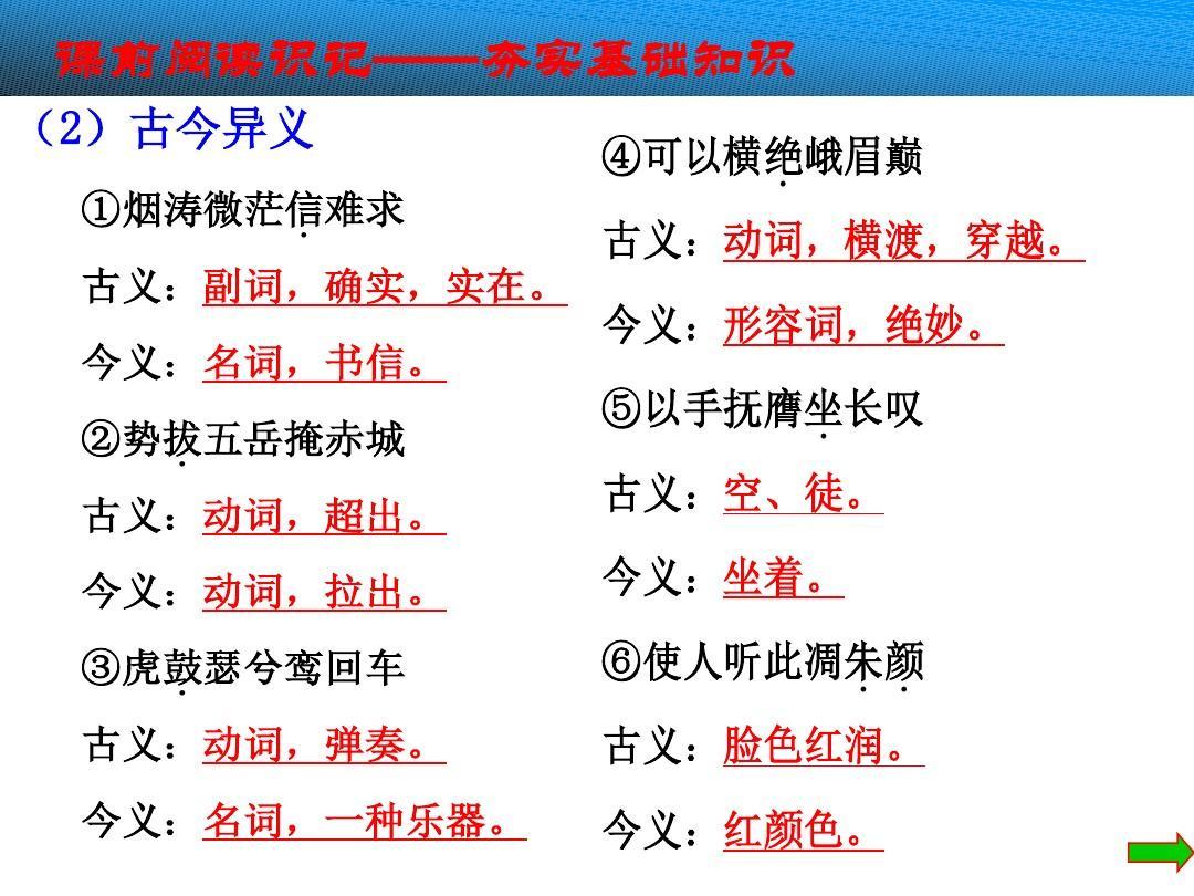 语李白v李白二课件速度备课精选教案:第4课语文诗三首文版全套图片