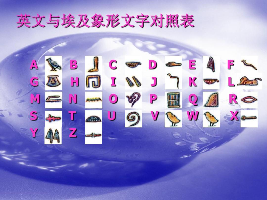 2015i*y�n�a��9.9�hym�:i�_英文与埃及象形文字对照表 a g m s y b h n t z c i o u d j p v e k