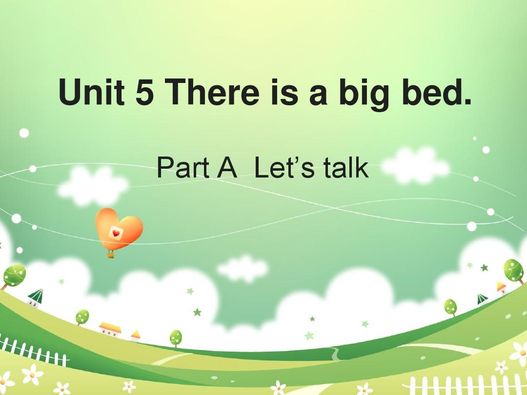 Unit5_There_is_a_big_bed_第2课时名师课件