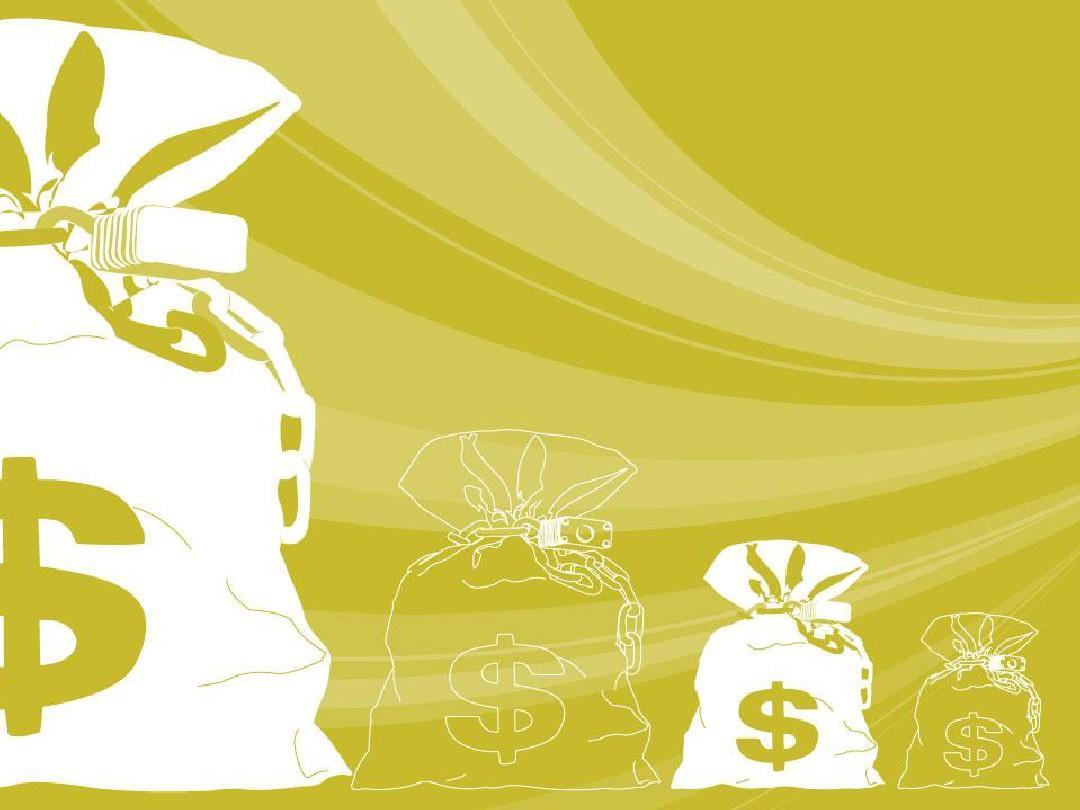 金融背景ppt模板图片
