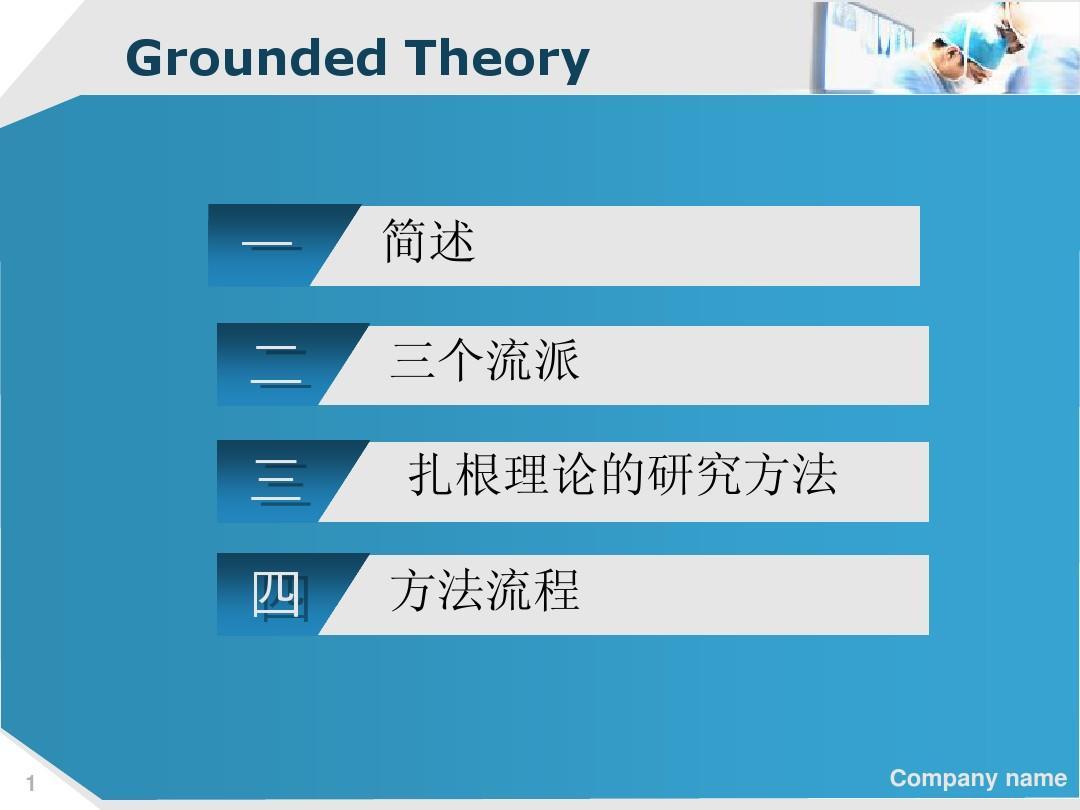 扎根理论PPT