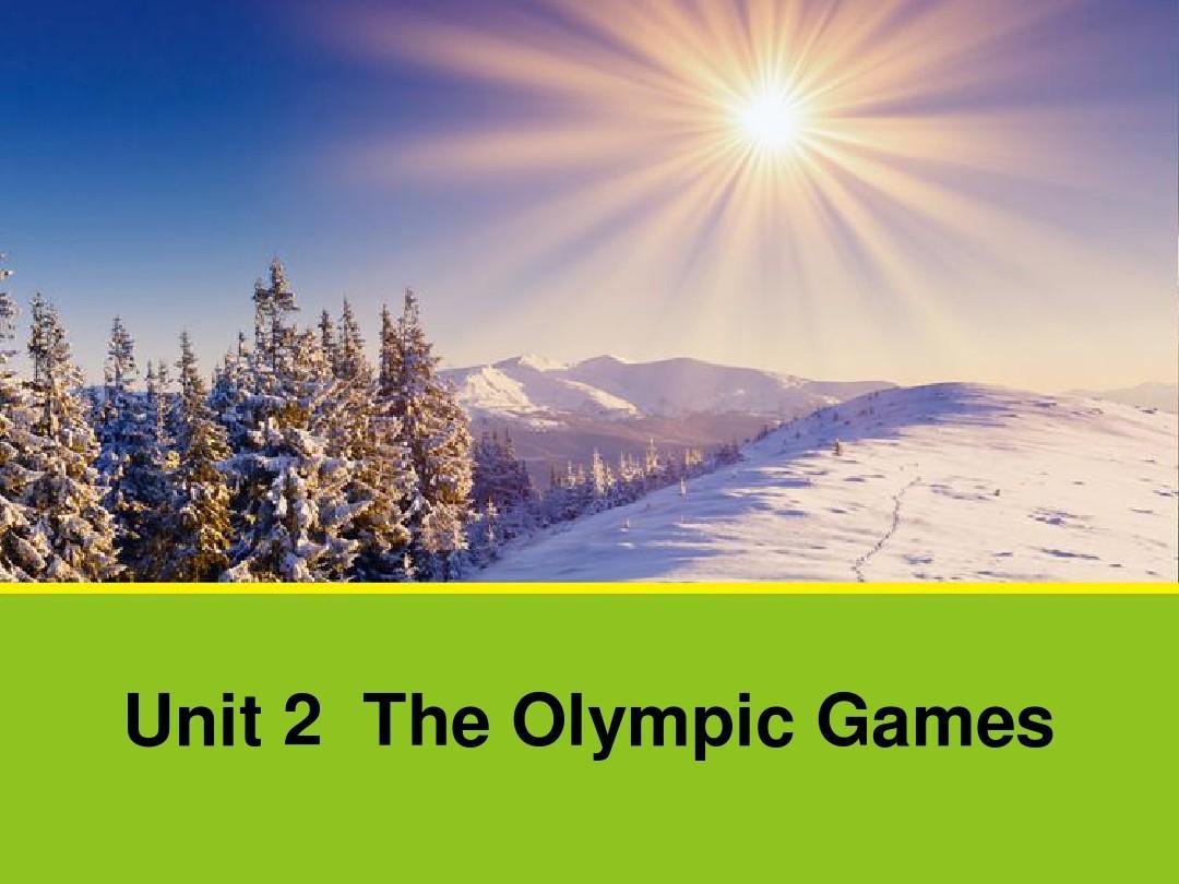 高中人教版英语必修二同课异构课件:Unit 2 Section B Language Points 2