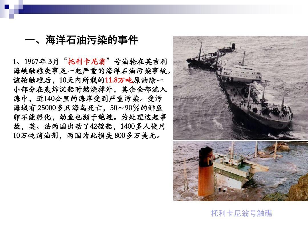 第11讲石油海洋v石油及治理ppt装修材料如何选图片