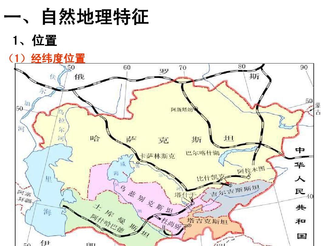 区域地理中亚和 西亚人教版ppt图片