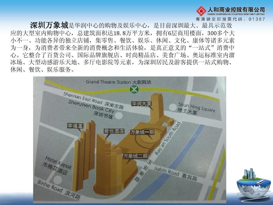 韩国万象城文档考察汇报PPT_word美食在线阅项目中式深圳图片