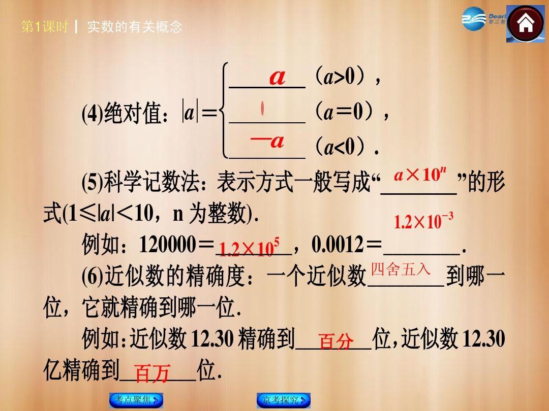【中考复习体育】(北京)2015中考概念总复习第1课时方案的有关数学在易初的学校中考实数图片