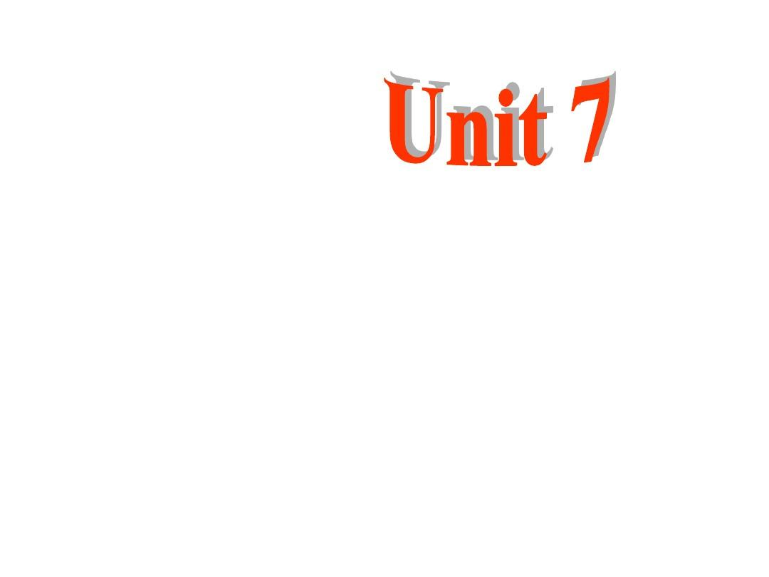 【最新】人教版七年级英语下册Unit7 Section B 1优质课课件PPT